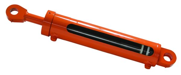 single image of a hydraulic ram
