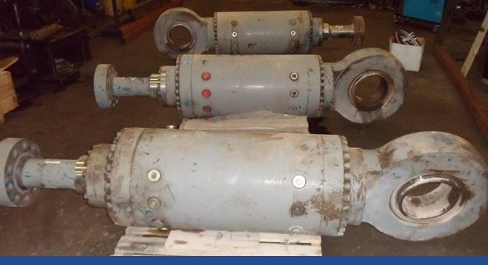 repairs of hydraulic cylinders